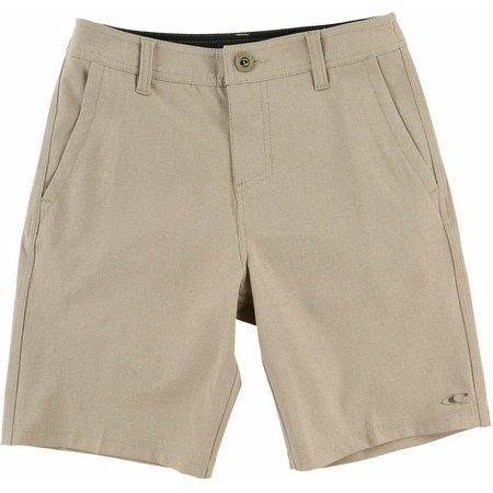 O'Neill Big Boys Loaded Heather Hybrid Shorts