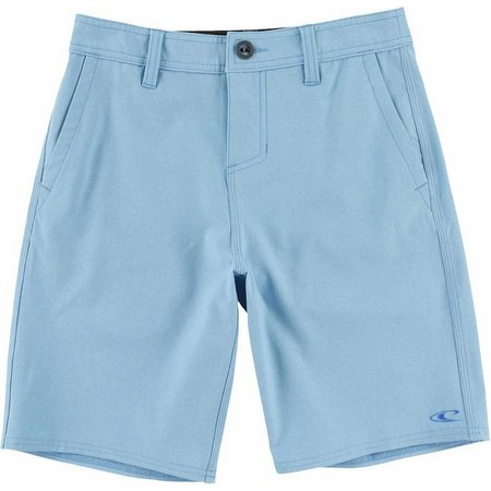 New! O'Neill Big Boys Loaded Heather Hybrid Shorts