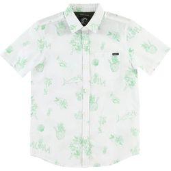 New! O'Neill Big Boys O'Riginals Aloha Shirt