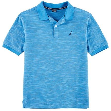 Nautica Big Boys Heathered Polo Shirt
