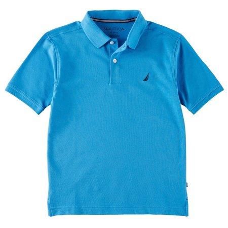 Nautica Big Boys Solid Stretch Polo Shirt