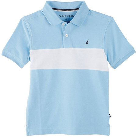 Nautica Big Boys Colorblock Polo Shirt