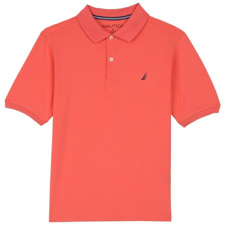 Nautica Big Boys Pique Polo Shirt
