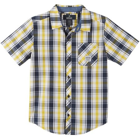 Buffalo Big Boys Plaid Button Down Shirt