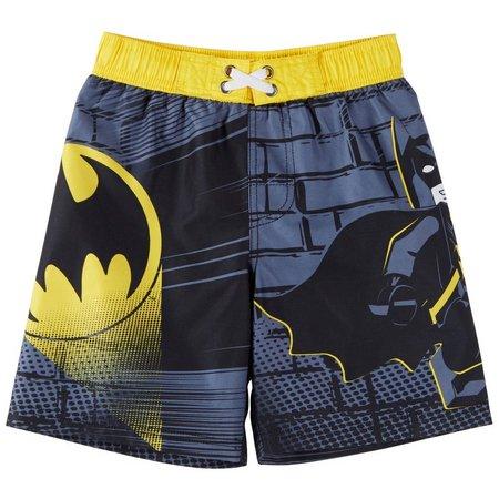 Lego Batman Little Boys Signal Swim Trunks