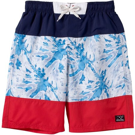 Big Chill Little Boys Tie Dye Boardshorts