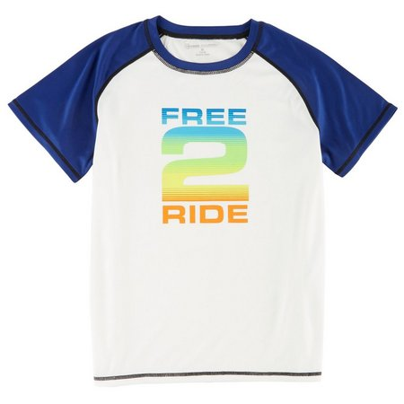 Free Country Big Boys Free 2 Ride Rashguard