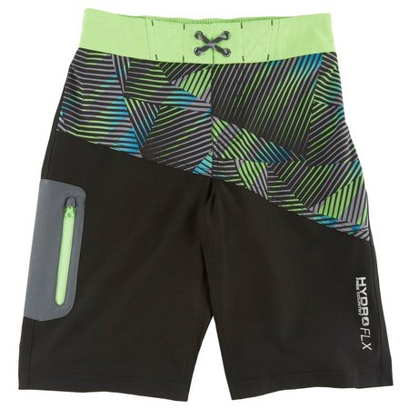 Free Country Big Boys HydroFlx Stacked Swim Trunks