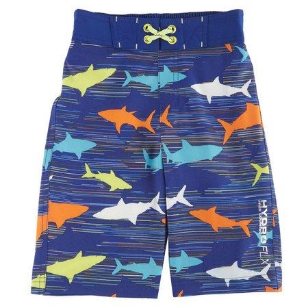 Free Country Little Boys HydroFlx Dye Swim Trunks