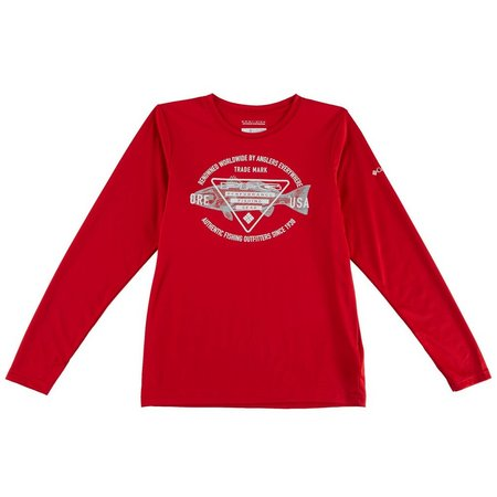 Columbia Big Boys Triangle PFG T-Shirt