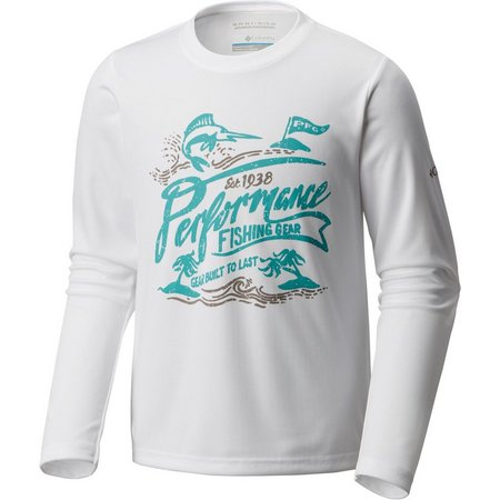 Columbia Big Boys Reel Adventure PFG T-Shirt