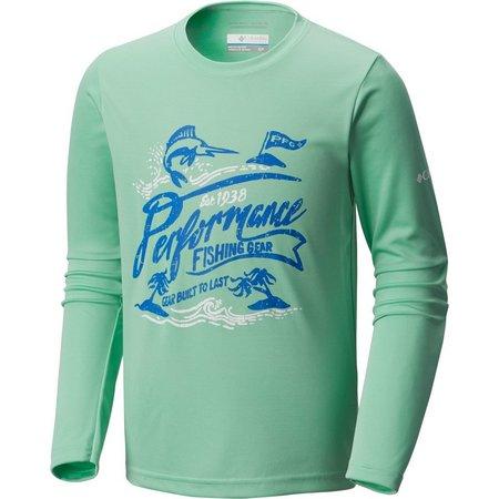 Columbia Big Boys Reel Adventure T-Shirt