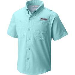 Columbia Big Boys Tamiami Solid Shirt