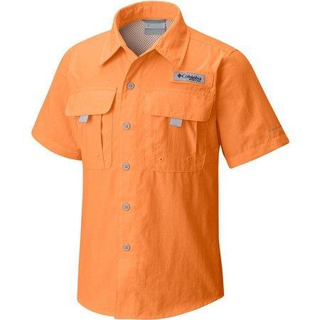 New! Columbia Big Boys Bahama Short Sleeve Shirt