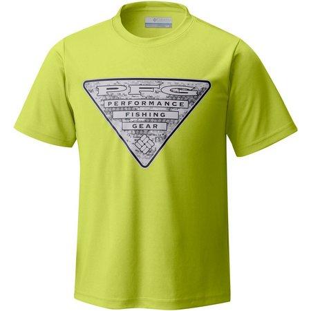 Columbia Big Boys PFG Triangle T-Shirt