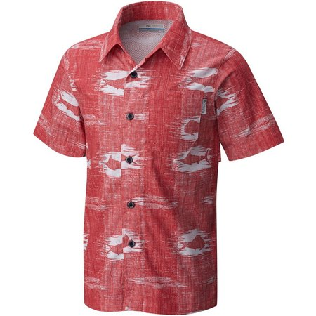 New! Columbia Big Boys PFG Trollers Best Shirt