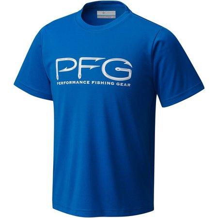 Columbia Big Boys PFG Hook T-Shirt
