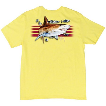 Guy Harvey Big Boys Trigger Stripe T-Shirt