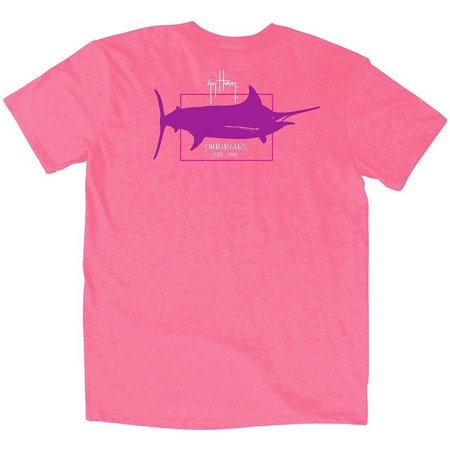 Guy Harvey Big Boys Originals Logo T-Shirt