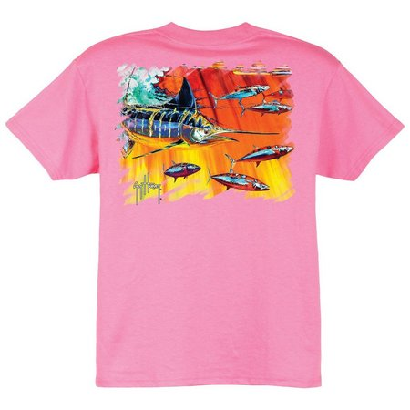 Guy Harvey Big Boys Hydro Short Sleeve T-Shirt