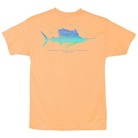 Guy Harvey Big Boys Sailfish Scribble T-Shirt