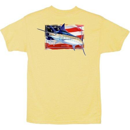 Guy Harvey Big Boys Black Magic T-Shirt