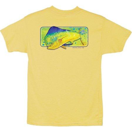 Guy Harvey Big Boys Mahi Skin T-Shirt