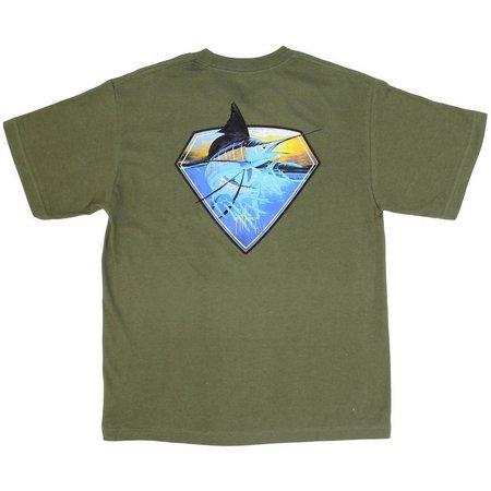 Guy Harvey Big Boys Super Sailfish T-Shirt