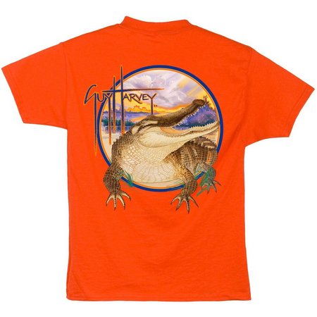 New! Guy Harvey Big Boys Gator T-Shirt