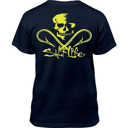 Salt Life Big Boys Skull and Hook T-Shirt
