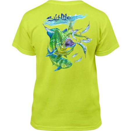 Salt Life Big Boys Busting Ballyhoo T-Shirt