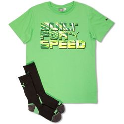Puma Big Boys Built For Speed T-Shirt &