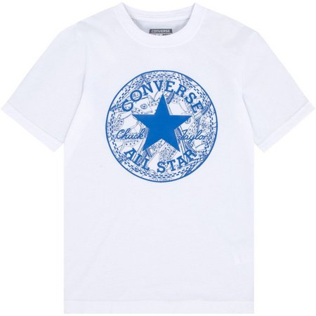 Converse Big Boys Blue Chuck Fill T-Shirt