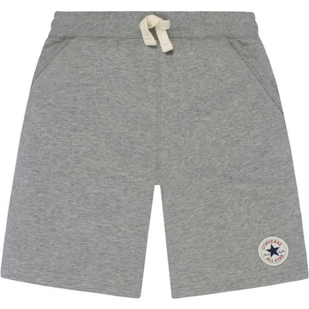 Converse Big Boys Heather Grey French Terry Shorts