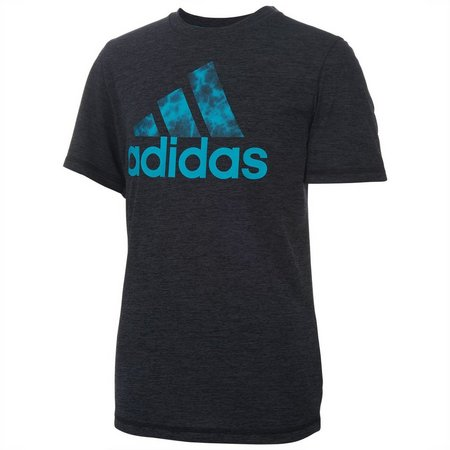 New! Adidas Big Boys ClimaLite Logo T-Shirt