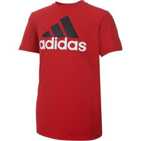 Adidas Big Boys ClimaLite Logo T-Shirt