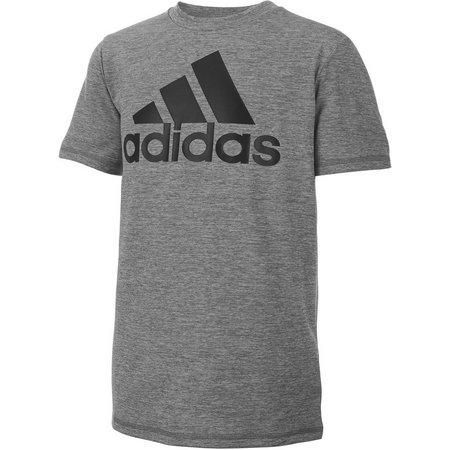 Adidas Big Boys ClimaLite Big Logo T-Shirt