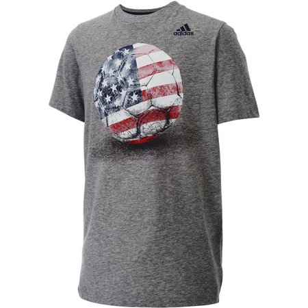 New! Adidas Big Boys USA T-Shirt