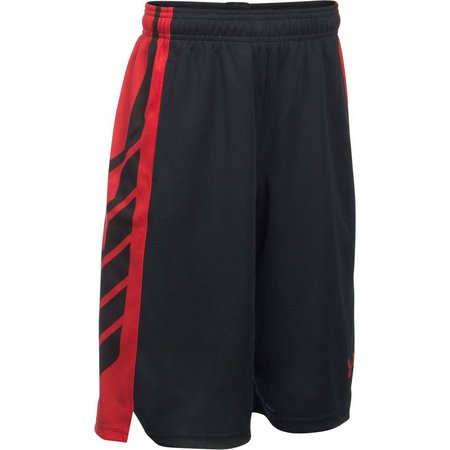 Under Armour Big Boys Stripe Select Shorts