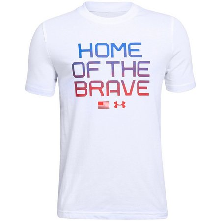Under Armour Big Boys Home Of The Brave