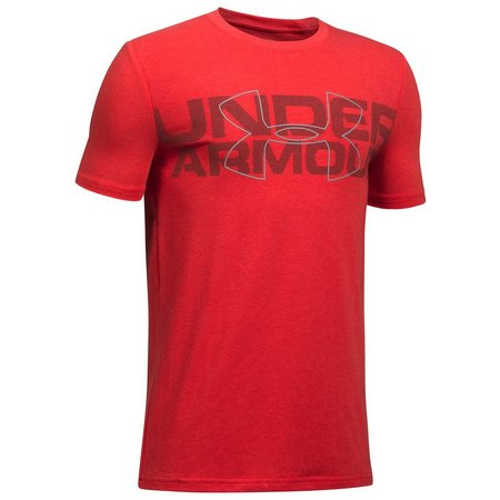 Under Armour Big Boys Duo Logo T-Shirt