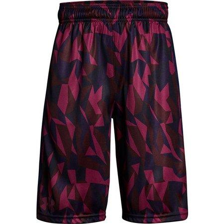 Under Armour Big Boys Geo Print Eliminator Shorts