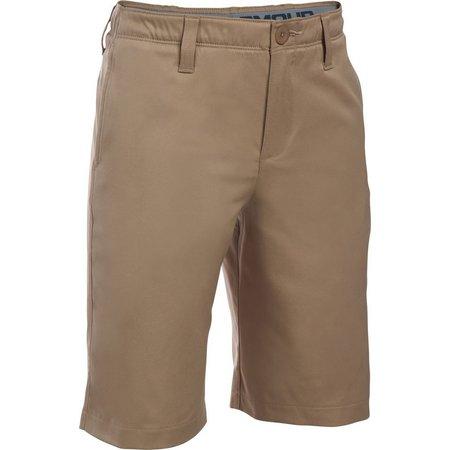 Under Armour Big Boys Match Play Shorts