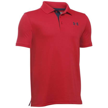 Under Armour Big Boys Match Play Polo Shirt