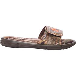Under Armour Boys Ignite Camo V Sandals