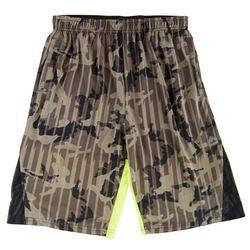 RBX Big Boys Camouflage Basketball Shorts