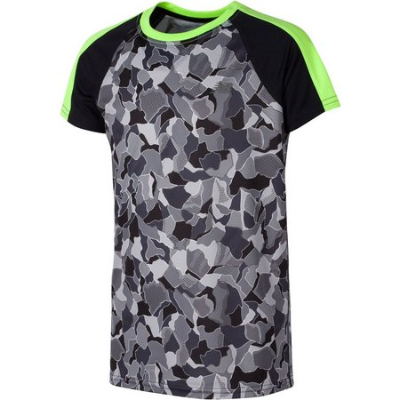 New Balance Big Boys Performance Camo T-Shirt