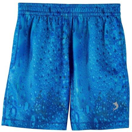 Reel Legends Little Boys Bradbury Rain Knit Shorts