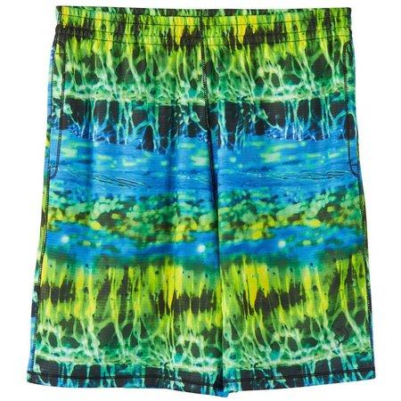 Reel Legends Big Boys Freeline Lake Swim Shorts