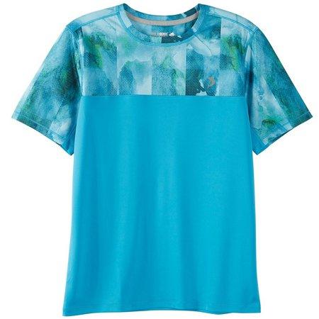 Reel Legends Big Boys Freeline Watercolor T-Shirt